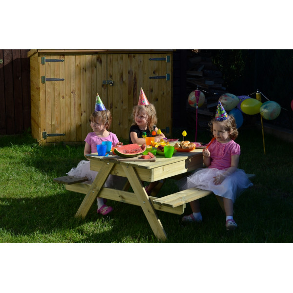 MINI PICNIC TABLE  WITH SANDPIT